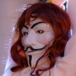 Nur zu Ihrer Sicherheit - Guy Fawkes Maske