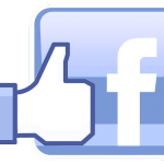 facebook logo + thumb