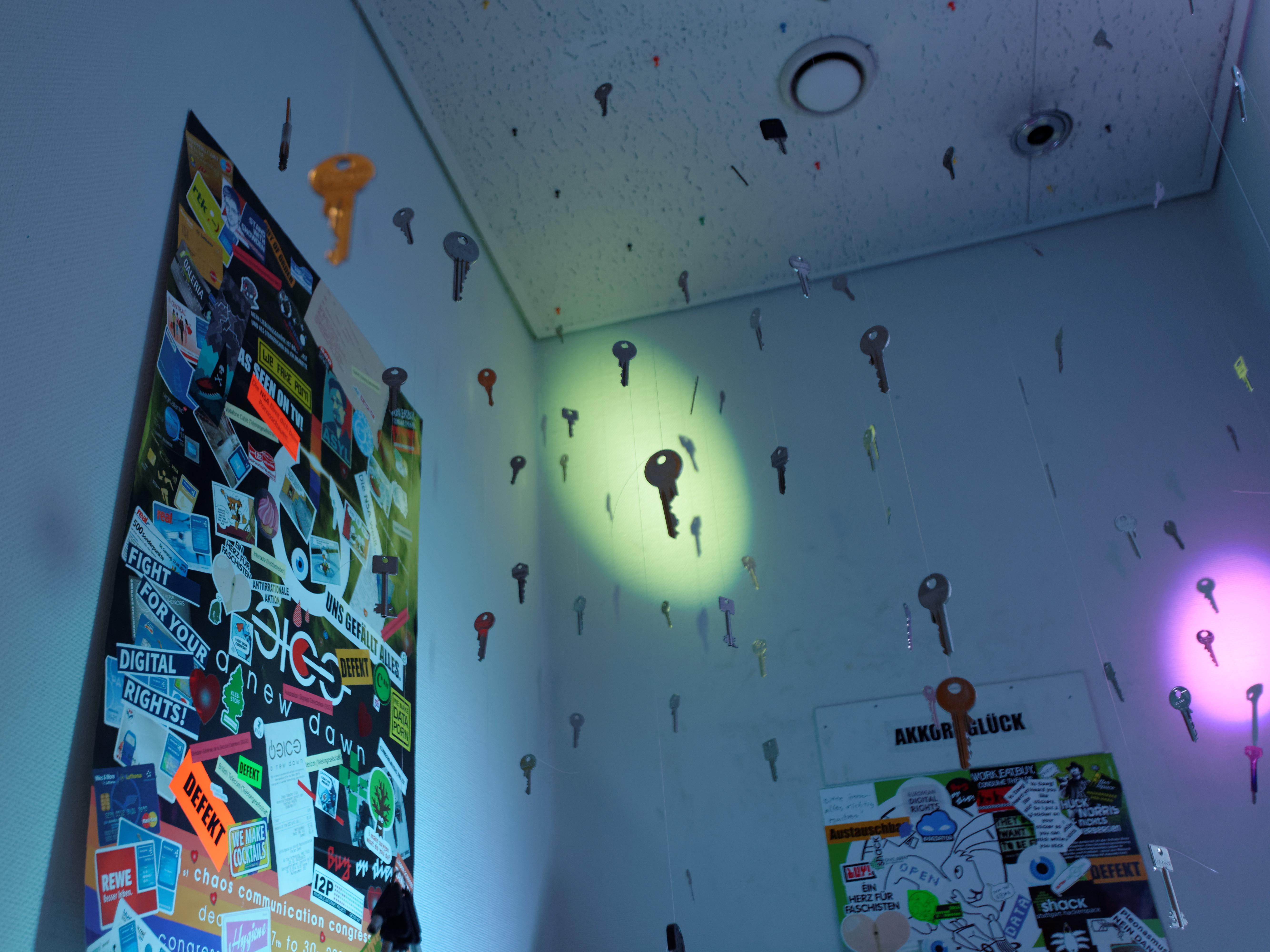 Dieser Raum ist verschlüsselt.